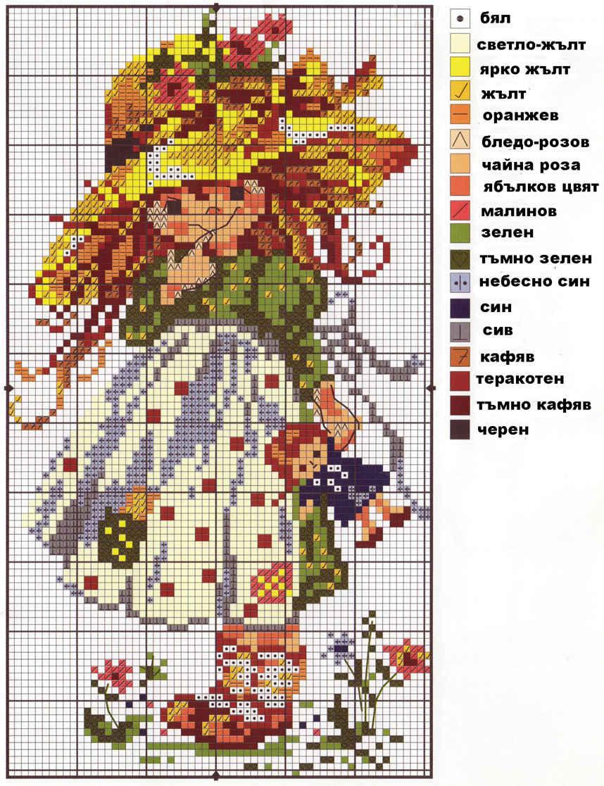 Схема вышивки по фото. Заказать схему 95